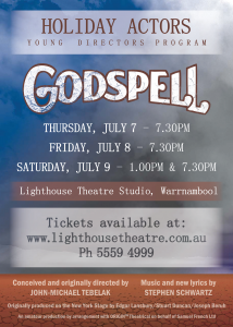 Holiday Actors Godspell Poster FINAL